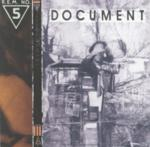 CD-cover: R.E.M. – Document