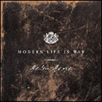 CD-cover: Modern Life is War – My Love. My Way.