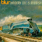 CD-cover: Blur – Modern Life Is Rubbish