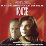 CD-cover: Zbigniew Preisner – Trois couleurs: Rouge