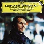 CD-cover: Mikhail Pletnev – Rachmaninov: Symphony No. 2 – The Rock