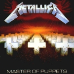 CD-cover: Metallica – Master of Puppets
