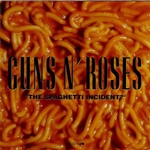 CD-cover: Guns N' Roses – The Spaghetti Incident