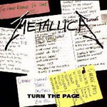 CD-cover: Metallica – Turn the Page