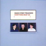 CD-cover: Manic Street Preachers – Everything Must Go
