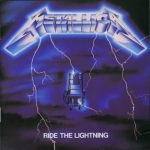 CD-cover: Metallica – Ride the Lightening