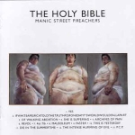 CD-cover: Manic Street Preachers – The Holy Bible