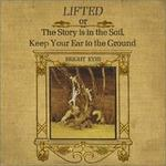 CD-cover: Bright Eyes – Lifted or The Story Is in the Soil, Keep Your Ear to the Ground